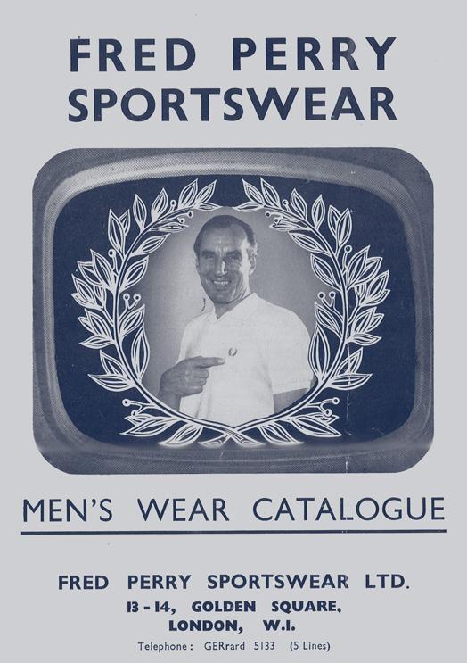 Catálogo Fred Perry para homem