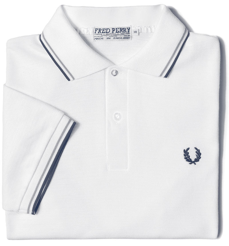 Le polo Fred Perry à double liseré original
