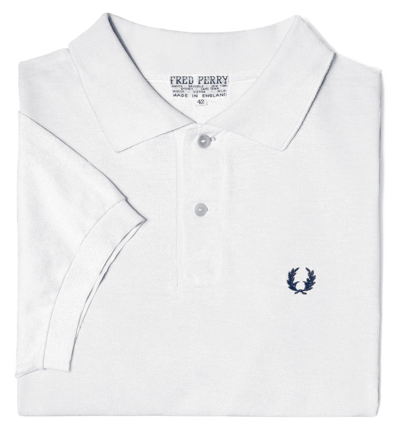 The original one colour Fred Perry shirt