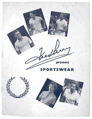 المواد الترويجية الأولى لفريد بيري