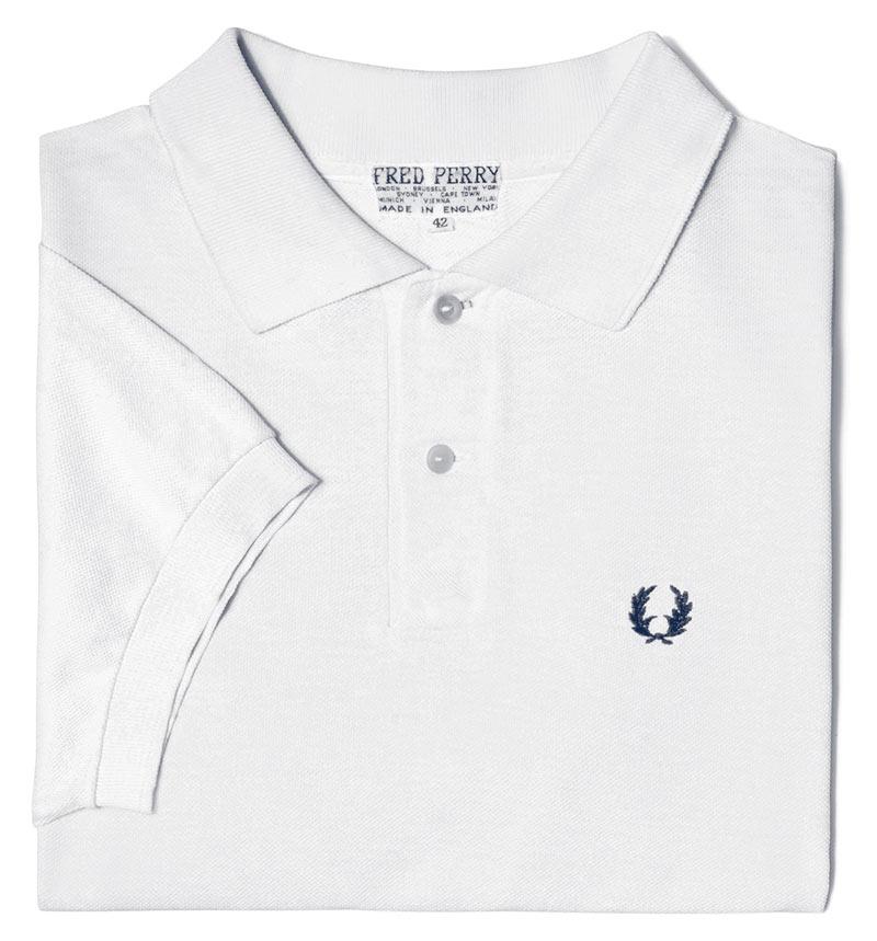 قميص فريد بيري بلون واحد الأصلي