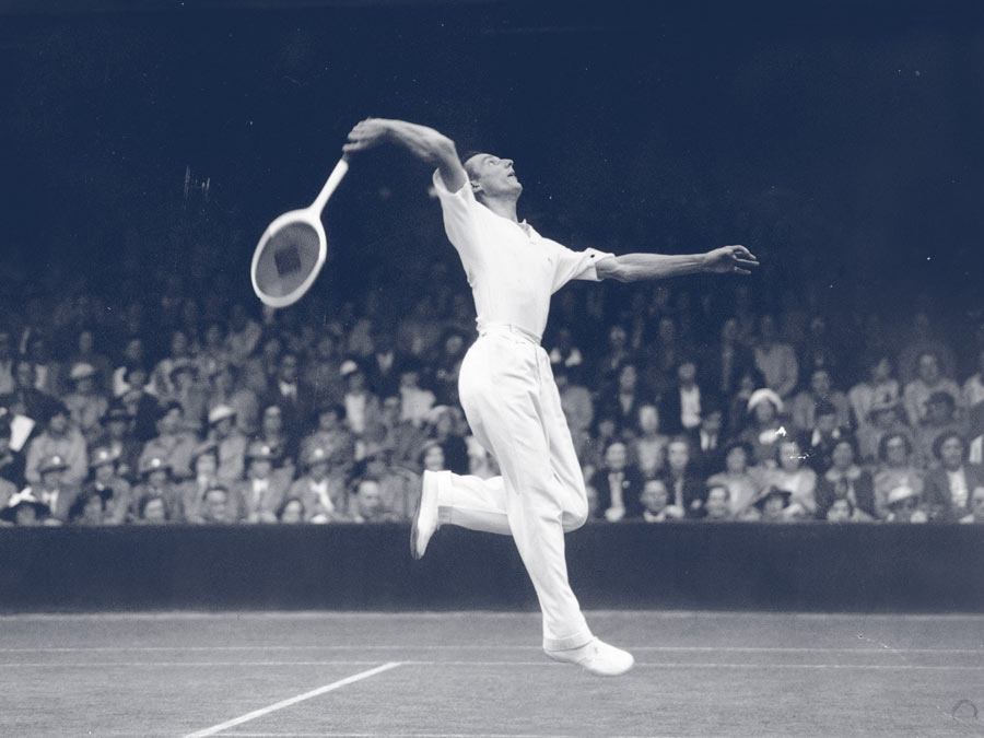 Fred Perry - Wimbledon 1935