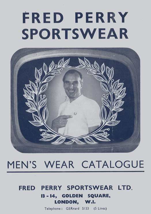 Fred Perry Menswear catalogue