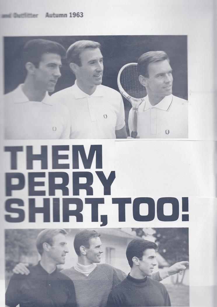 مقالة فريد بيري - قميص الحفلات، أيضًا!