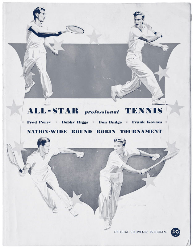 All Star Tennis article
