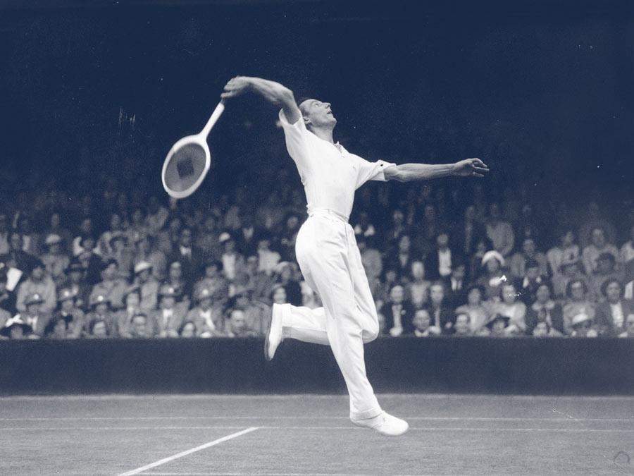 Fred Pery; Wimbledon 1935
