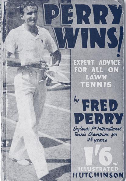 Artículo sobre la victoria de Fred Perry